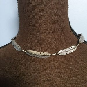 3 FOR $30 AEO Feather Tie Choker Necklace